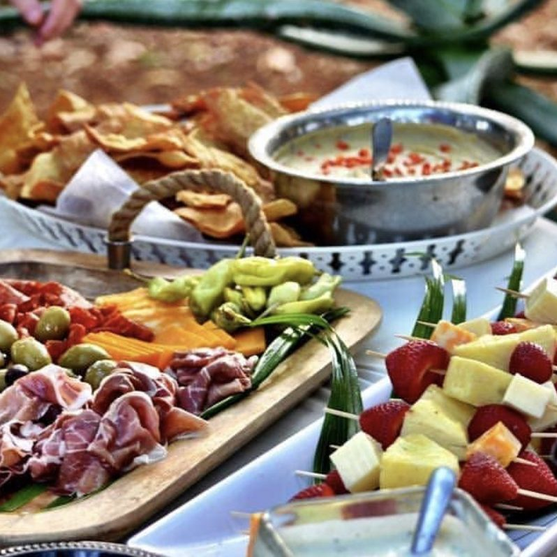 Caribbean Catering Brunch Photo